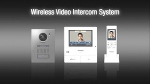 Draadloos Panasonic Intercomsysteem