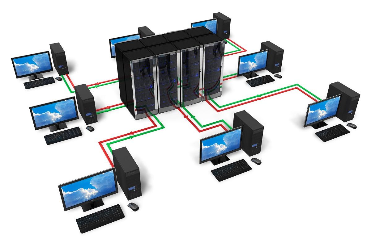Serverruimte en datacenter