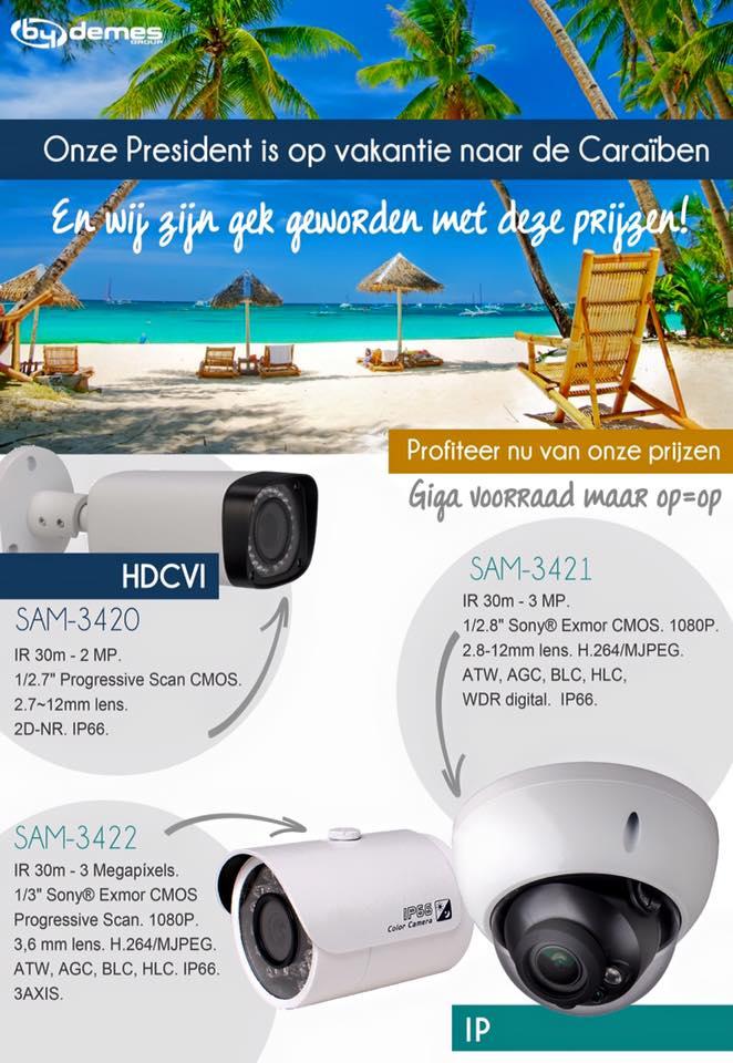 Vanaf je vakantie adres je huis - tuin of bedrijf monitoren