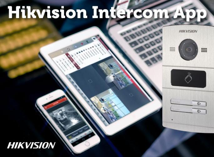 Hikvision Intercomsysteem met iOS & Android app.