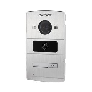 Hikvision buitenpost DS-KV8102-IM met 1 beldrukker en IR verlichting