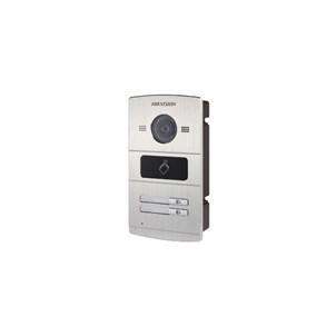 Hikvision buitenpost DS-KV8202-IM met 2 beldrukkers en IR verlichting