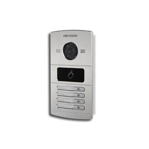 Hikvision buitenpost DS-KV8402-IM met 4 beldrukkers en IR verlichting