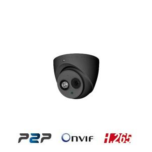 IP dome camera outdoors 50 meter vandalisme bestendig dag/nacht 4 MP donkergrijs met autofocus