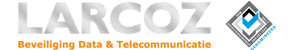 LARCOZ | Specialist in alarmsystemen, camerabeveiliging en inbraakbeveiliging Logo