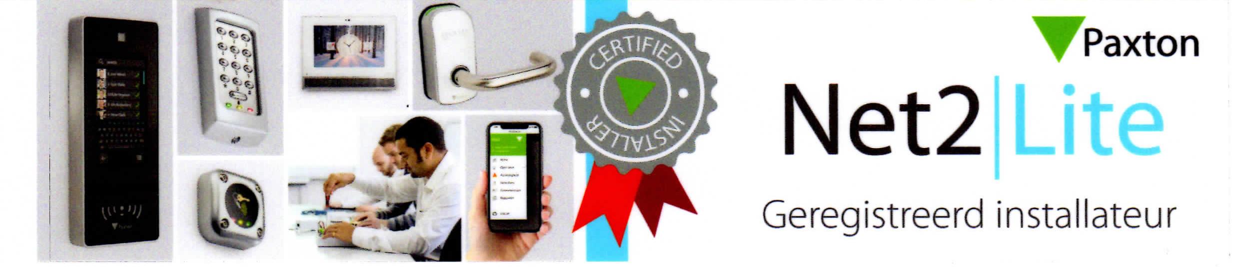 Paxton Net2Lite erkende installateur