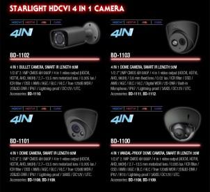Starlight HDCVI camera